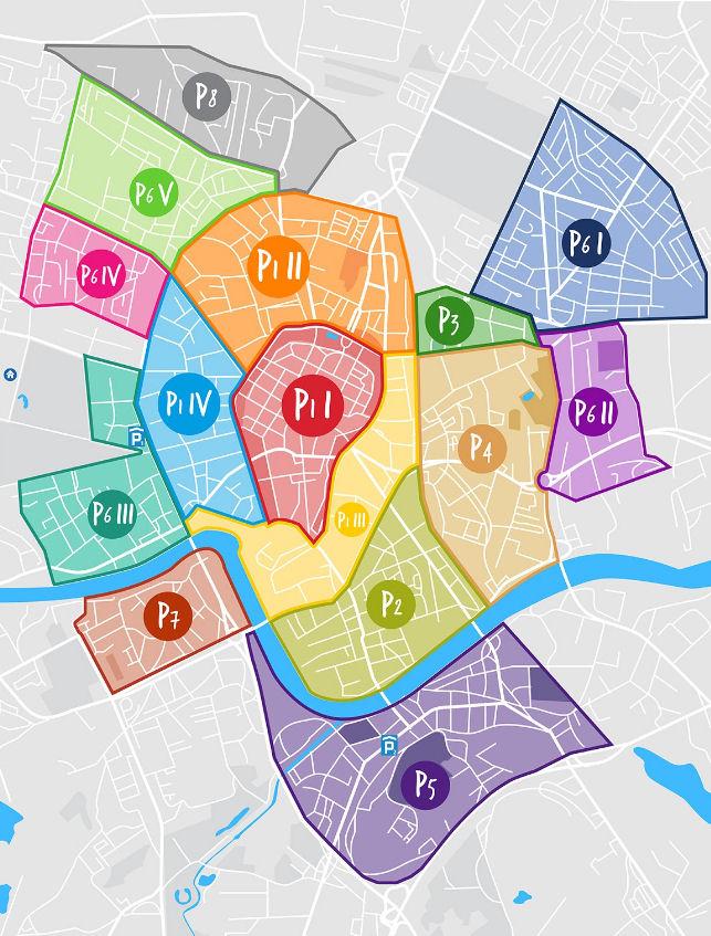 Cracòvia paga el mapa d'estacionament