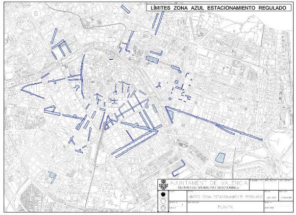 hartë e Valencias masë masa të ndalimit ndalimin e zonës blu