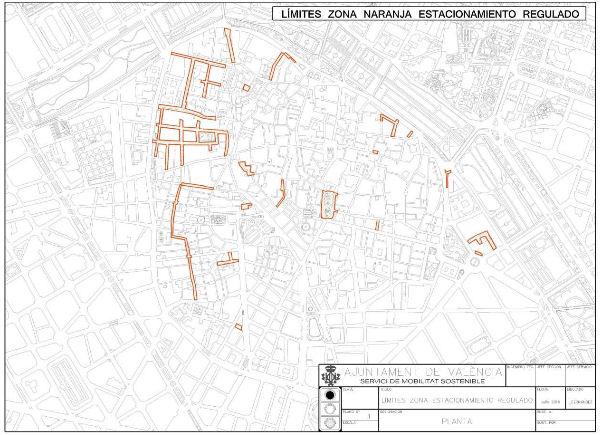 zonat e parkimit të portokallit që janë të ndaluara në rast të skemës emergjente