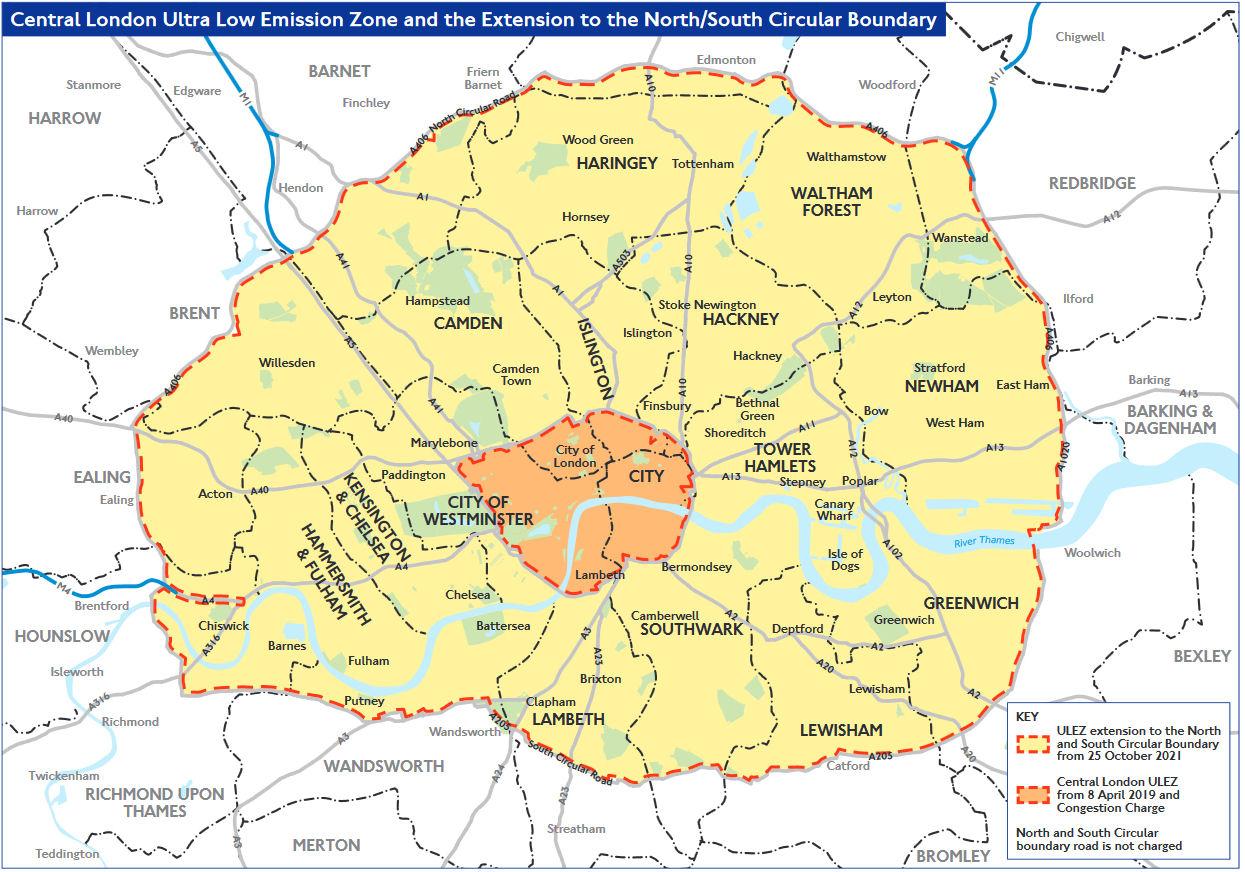 Umweltzone München Karte.London