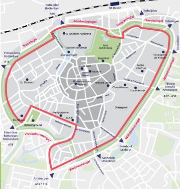 Breda térkép LEZ