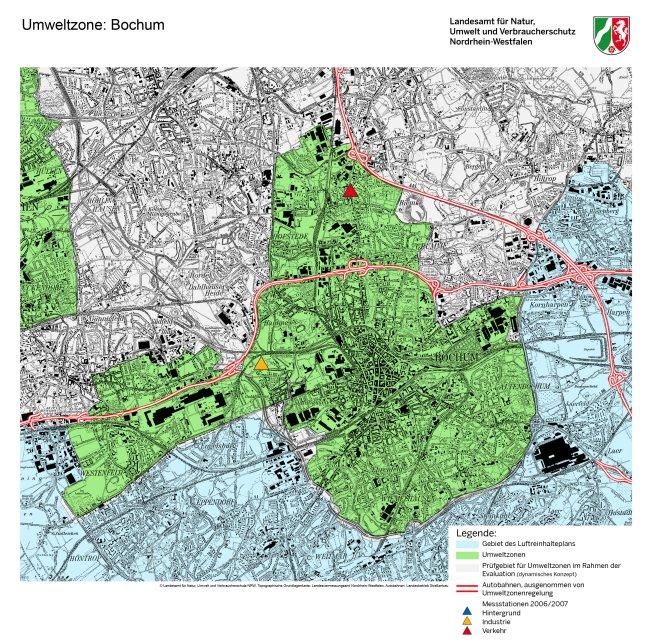 Bochum LEZ mappa