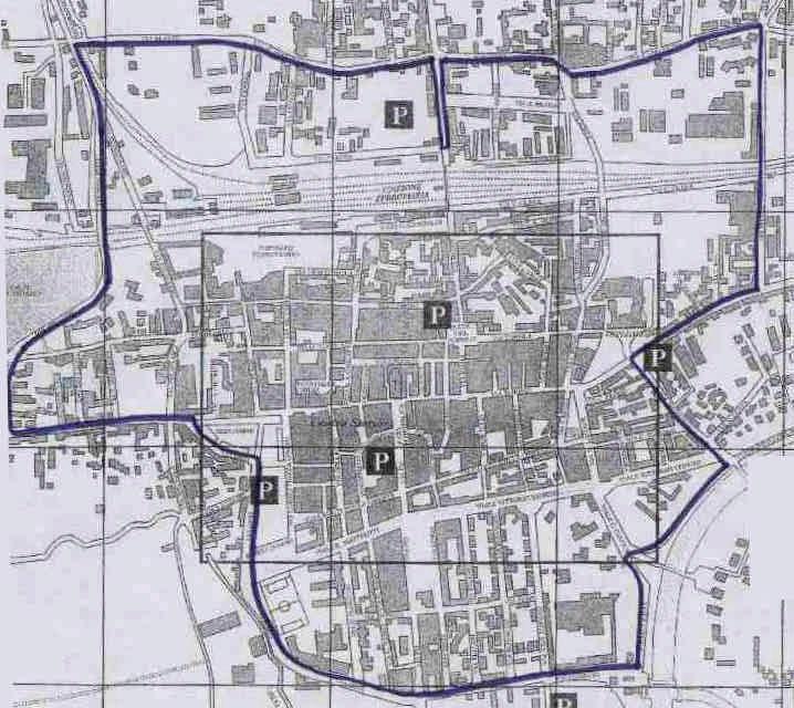 Chivasso LEZ ограничување на мапа