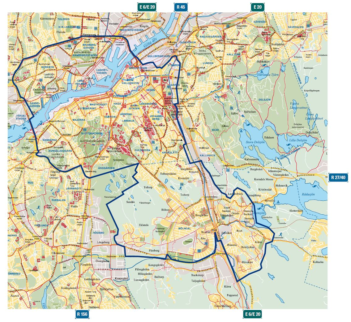 gøteborg kart Göteb(Gøteborg) gøteborg kart
