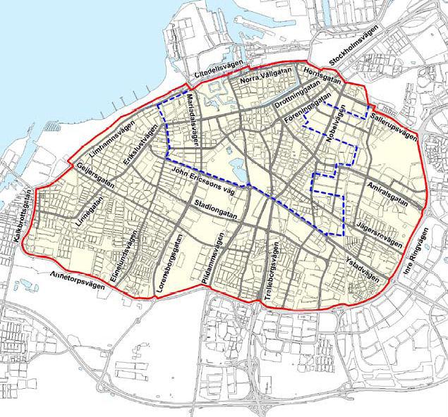 miljözon göteborg karta Malmö miljözon göteborg karta
