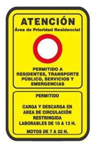 Шпанија регулација прилаз знак